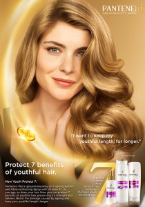 Pantene Youth Protect 7 Vittoria Puccini