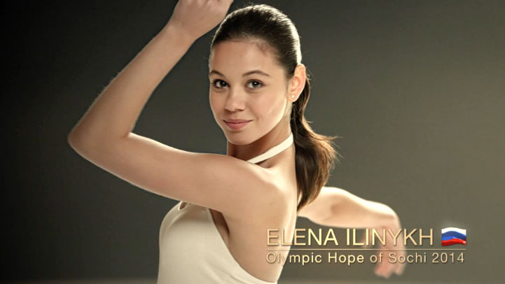 Pantene for Olympic Games in Sochi